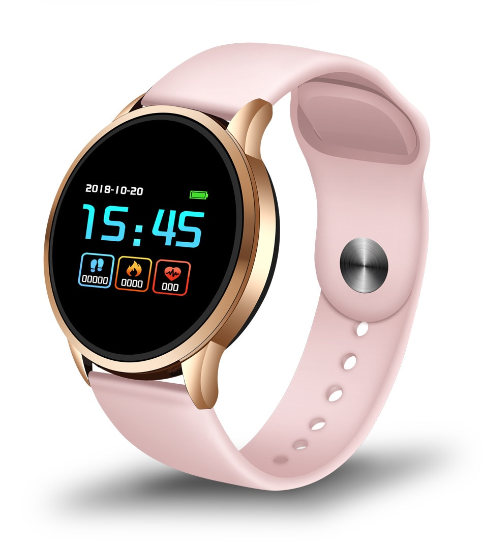 Women's Fashion Round Smart Wristband