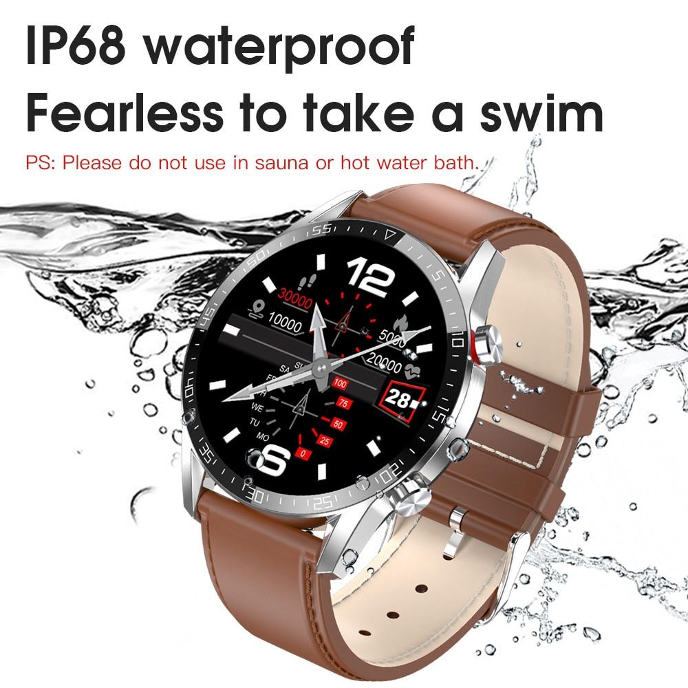 IP68 Waterproof Wireless Smartwatch