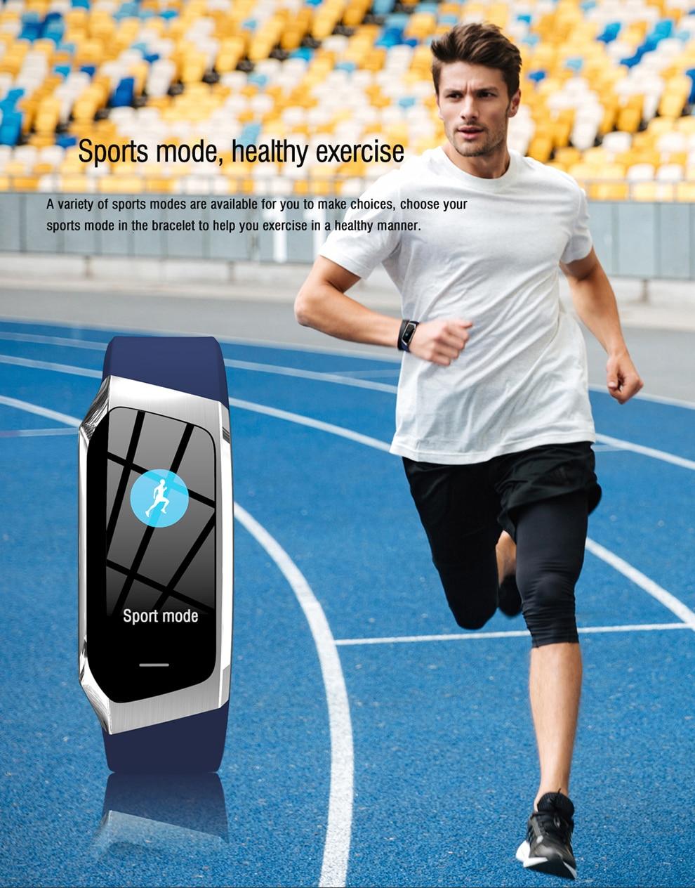 Geometric Dial Smart Watch